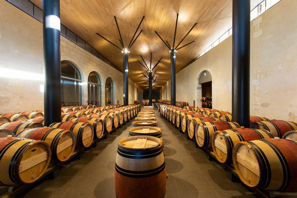 Chai Château Kirwan - Bordeaux Wine Trip